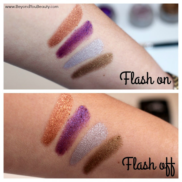 splurge cream shadows swatches