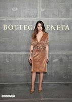 Priyanka Chopra is all brown in a deep neck beautiful dress at Bottega Veneta Show during NYFW ~  Exclusive 003.jpg