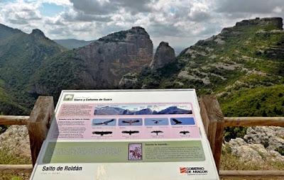 Mirador Salto de Roldan Sierra de Guara