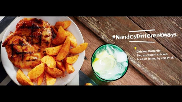 Bottomless PERi-PERi Chips & Drink At NANDO'S MALAYSIA