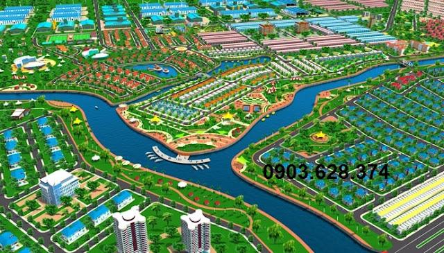 Đất nền Mỹ Phước 4 giá rẻ, 3 mặt giáp sông, chỉ 1,8tr/m2