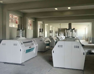 Installing wheat flour mill