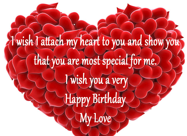Find a collection of birthday wishes images for lover that can spread smiles on your lover. These birthday images for lovers will surely make your someone special happy and given smile to their face.