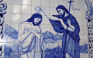 Giovanni Battista Gesù battesimo