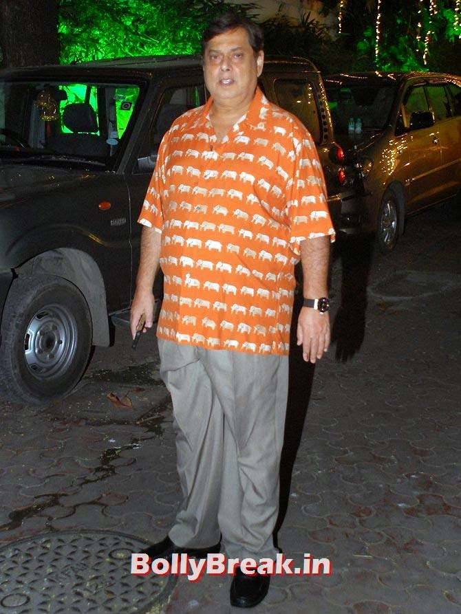 David Dhawan, Shilpa Shetty's Diwali Bash 2014 Photos