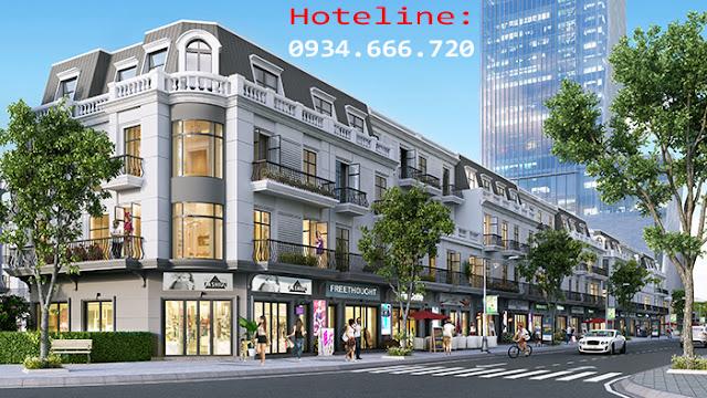 Dãy phố thương mại Shophouse Thanh Hóa