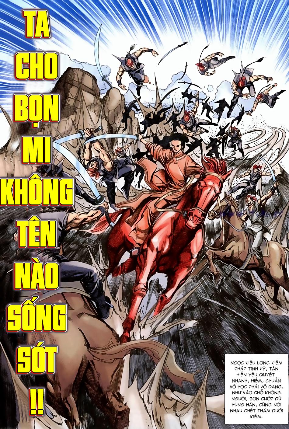 Ngọa Hổ Tàng Long I - II Chap 16 - Next Chap 17