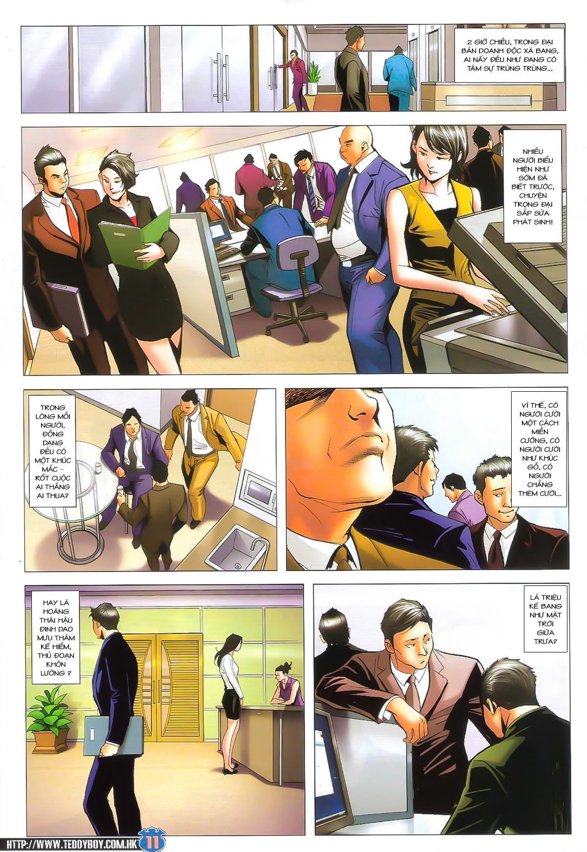 Người Trong Giang Hồ chapter 1617:  bức cung trang 10