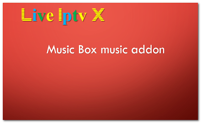 Music Box music addon