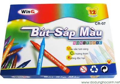 Bút sáp màu WinQ CR-07  - 12 màu