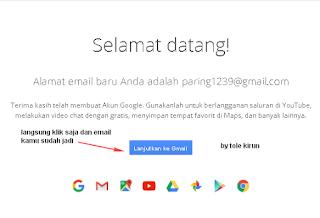 Cara mudah Membuat email
