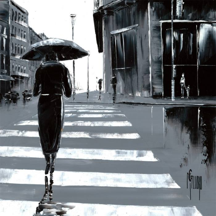 Городской пейзаж. Maurizio Galloro