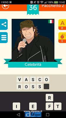 Iconica Italia Pop Logo Quiz soluzione pacchetto 2 livelli 36-50