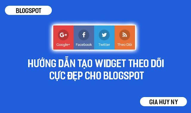 Hello mọi người, hôm nay mình sẽ hướng dẫn tạo widget theo dõi facebook,googleplus,twiter,blogspot cho blogspot nha.Widget này được mình lấy từ blog nước ngoài mình thấy cũng khá đẹp.