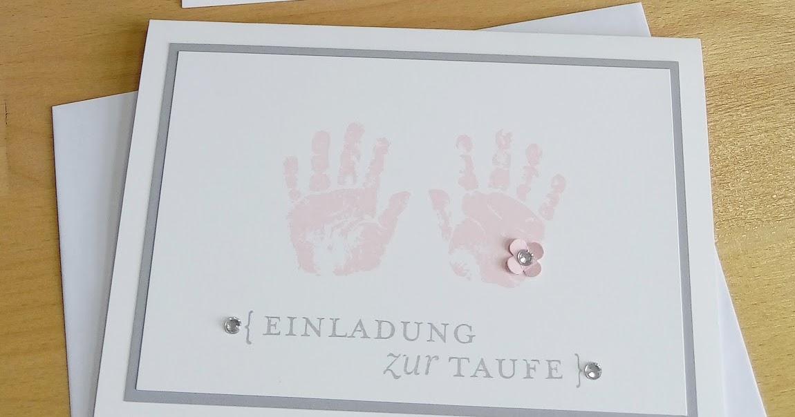 :: Tanjas Kreativecke ::: Einladungen Zur Taufe