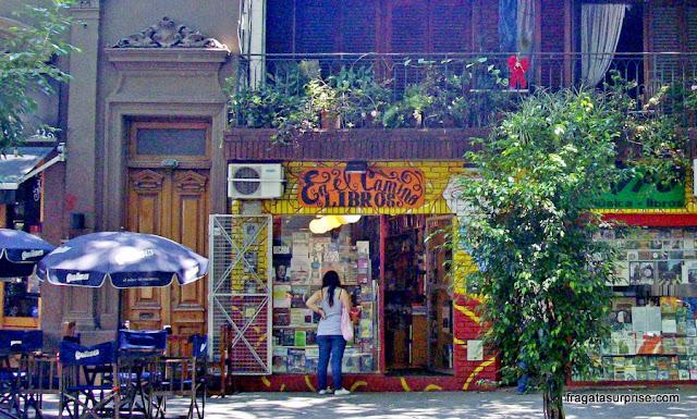 Livraria no bairro de Palermo, em Buenos Aires
