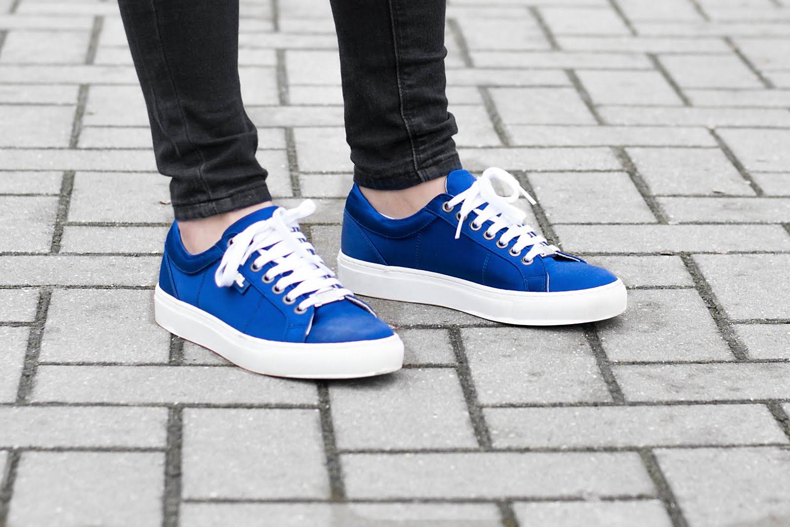 Wearing karl lagerfeld sneakers