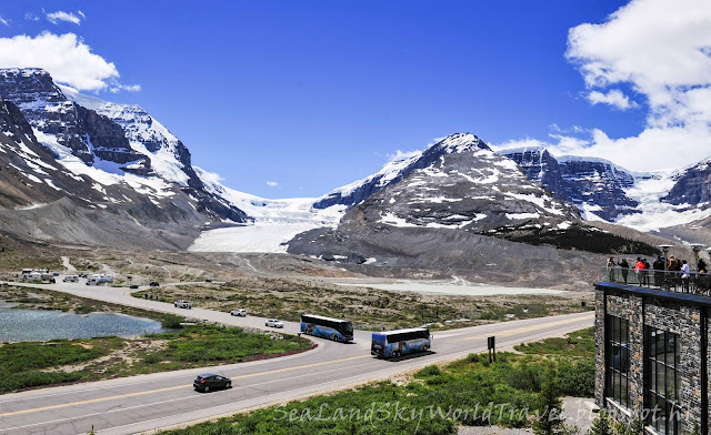 哥倫比亞冰原, Columbia Icefield, Athabasca Glacier