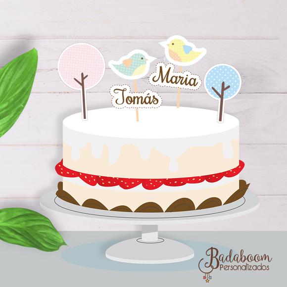 topo de bolo, passarinho, bird, arte digital, kit digital, festa infantil, decoração de festa passarinho, arte personalizada
