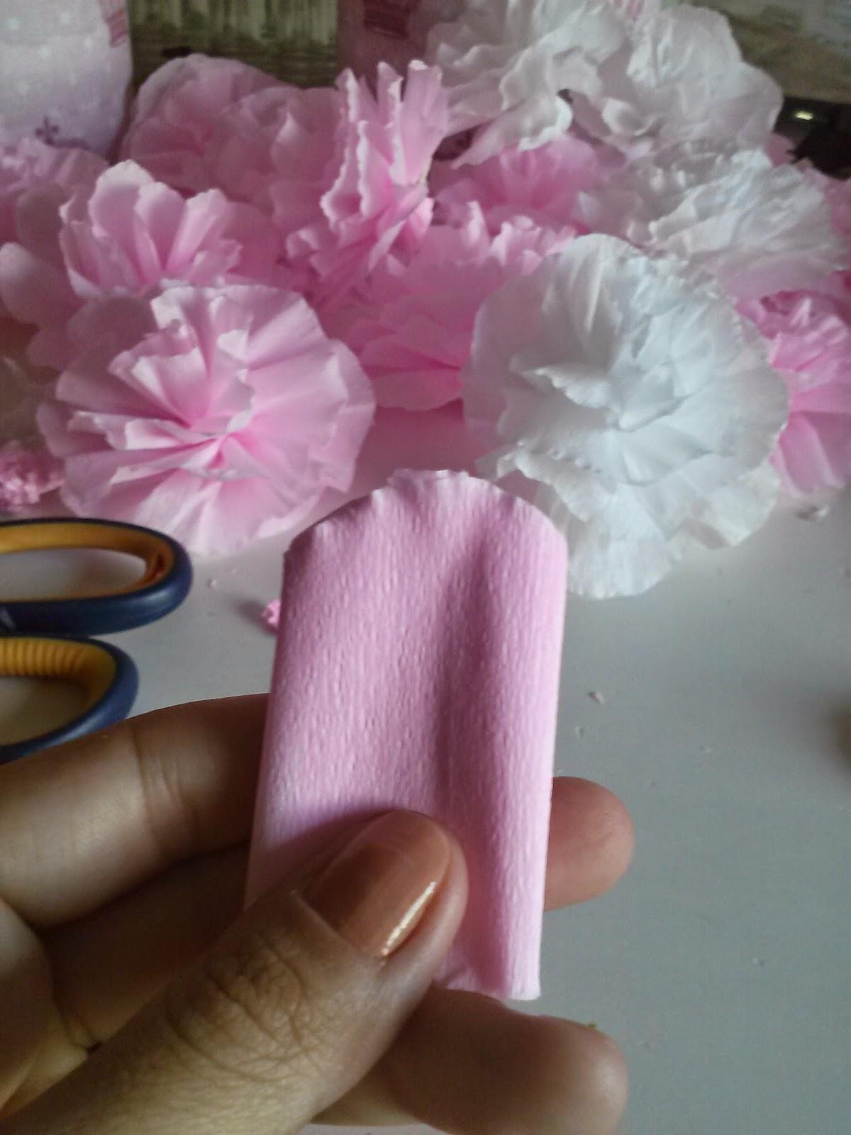 flor em papel