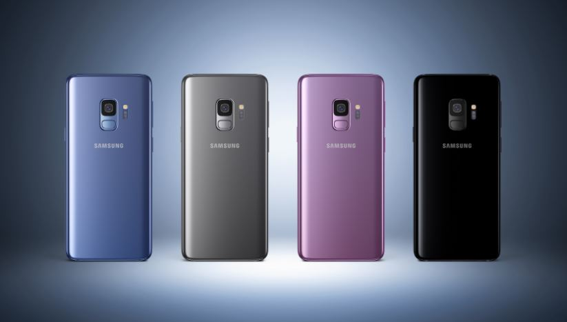 Samsung Galaxy S9 and S9+ colors