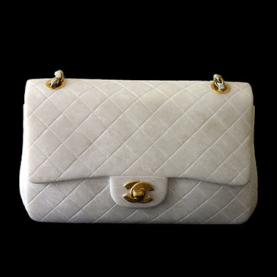 marble cast quilted Chanel bag