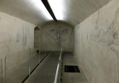 Gambar Tersembunyi Michelangelo di Kapel Medici