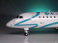 Miniatura Embraer 195 (Air Dolomiti) - Revell 1:144
