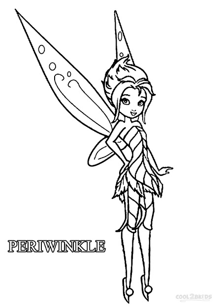 Disney Fairies Periwinkle Coloring Pages