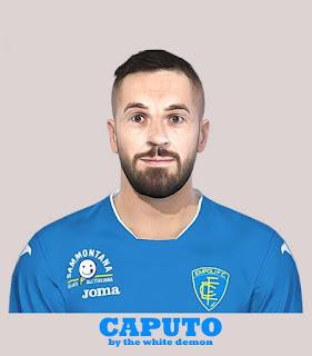 PES 2019 Faces Francesco Caputo by Jarray & The White Demon
