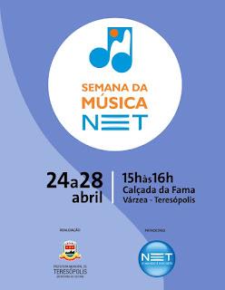 'Semana NET da Música' agita a Calçada da Fama de 24 a 28 de abril