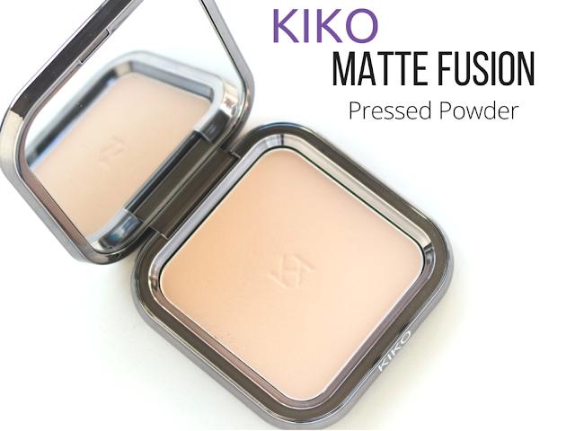 revue poudre matte fusion kiko 04 honey