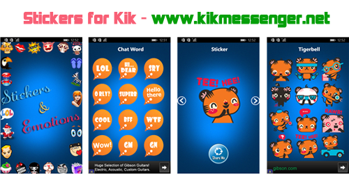 Stickers for Kik gratis para Windows Phone