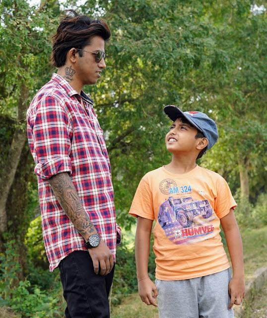 Sourajit Saha With Rick 3
