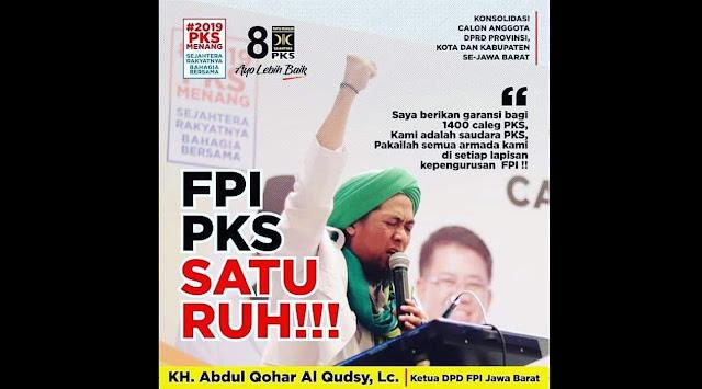FPI dan PKS, Dua Ruh yang Bersatu di Khatulistiwa