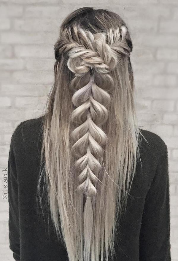 grey color hair