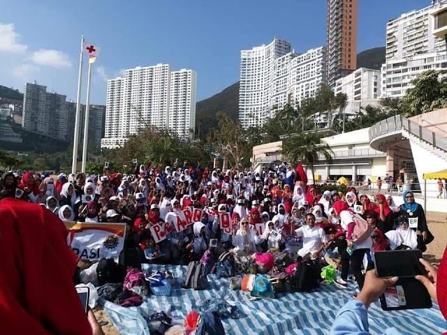 Tak Hanya di Setiap Daerah, Kampanye Pendukung Prabowo di Hongkong Pecah!