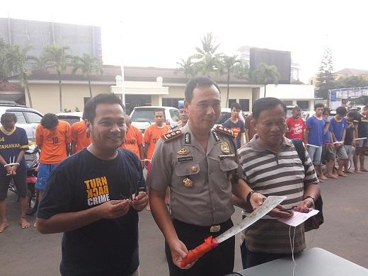 49 Preman Diciduk Polisi