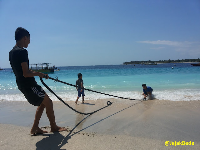 Pantai Cantik Lombok - Gili Trawangan
