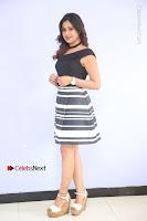 Actress Mi Rathod Pos Black Short Dress at Howrah Bridge Movie Press Meet  0033.JPG