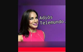 Carmen Dominicci se despide de Telemund