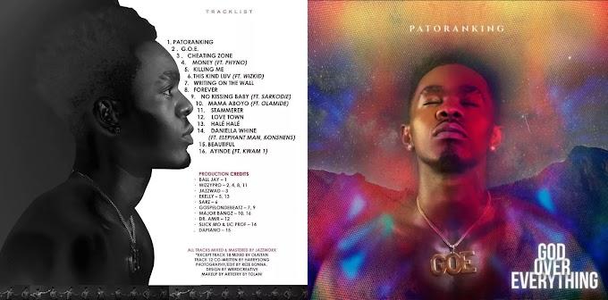 Album: Patoranking – GOE (God Over Everything)