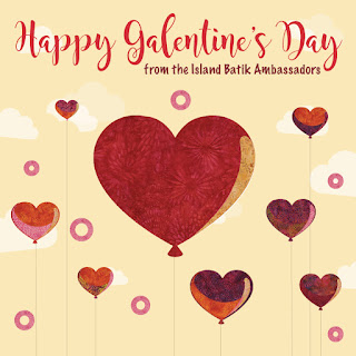 Moosestash Quilting Happy Galentines Day With Island Batik