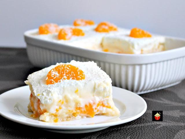 easy mandarin dessert
