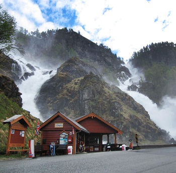 Latefoss, Odda, Norway - 2013
