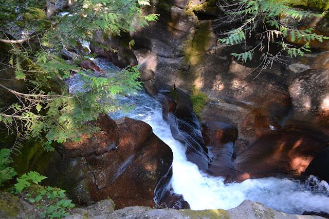 Національний Парк Глейшир: струмок Аваланч (Avalanche creek, Glacier National Park, MT)