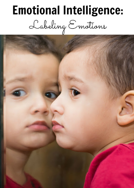 Helping kids recognize and label emotions. With free printable