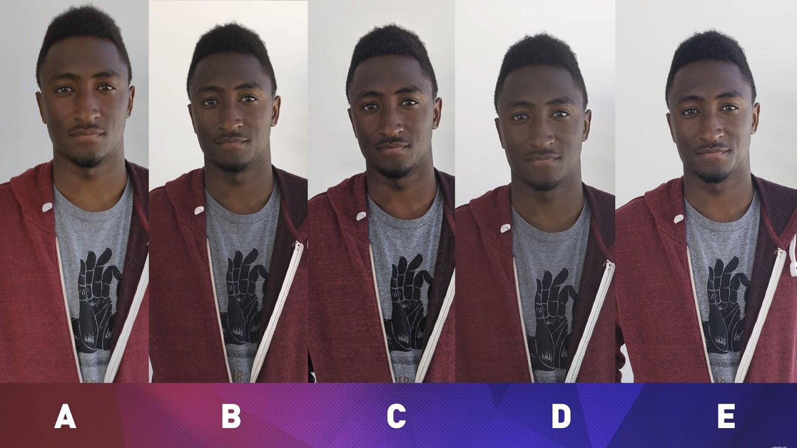 Сравнение камер iPhone X, Huawei P20 Pro, OnePlus 6, Google Pixel 2 XL и Samsung Galaxy S9+ при съемке портрета