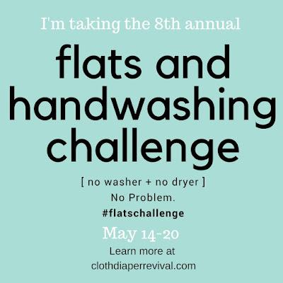 Flats Challenge 2018 Cloth Diaper Revival