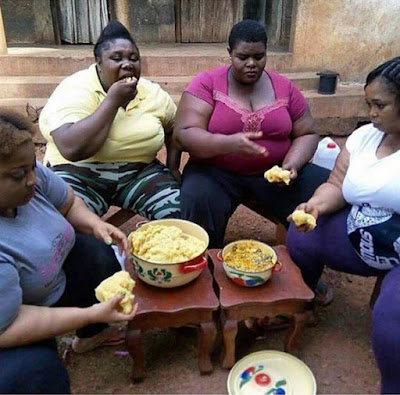 ladies eating a meal